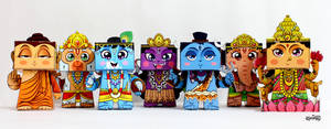 Hindu Mythology Gods and Goddesses Paper Toys