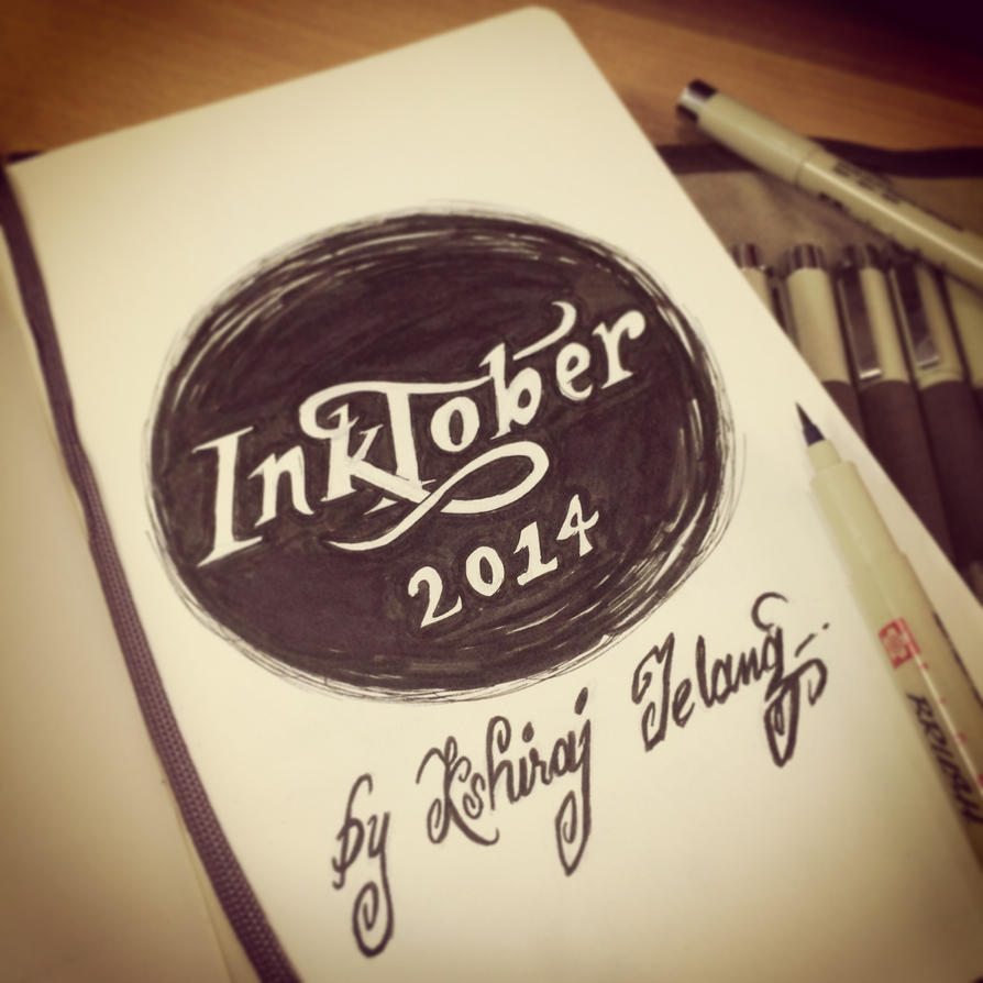 INKtober 2014 begins! by kshiraj