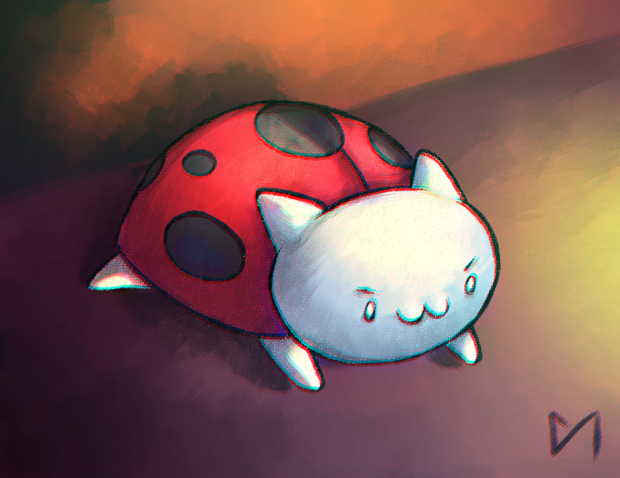 :FA: Catbug by Diaminerre