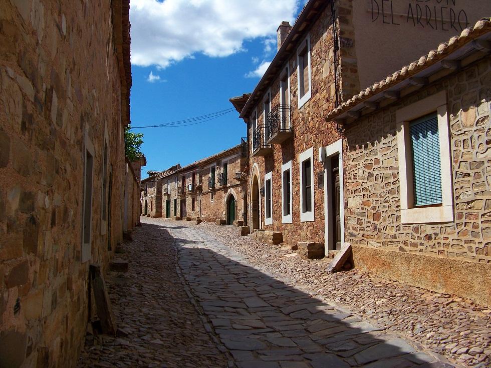 A street of Castrillo de los Polvazares by Imageshr