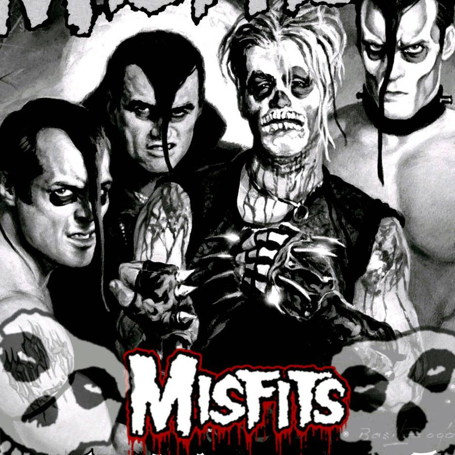 The Misfits Famous Monsters By Vandal98 On Deviantart