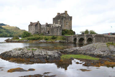 Castle on The Loch  by XLittleDoveX