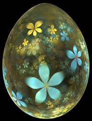Flower Easter Egg by SjerZ