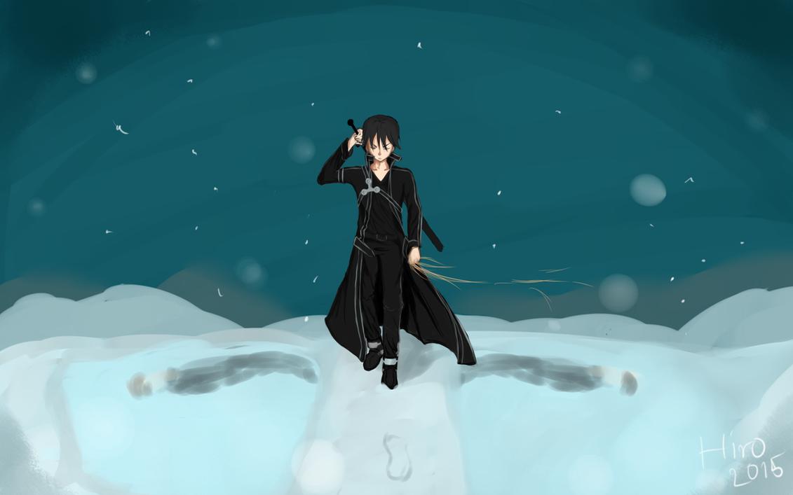 Black Swordsman by Hiro-Arts