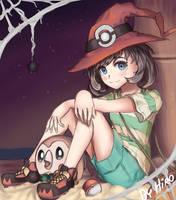Pokemon: Halloween Moon by HiroSenpaiArt