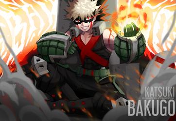 The Bombing King by HiroSenpaiArt