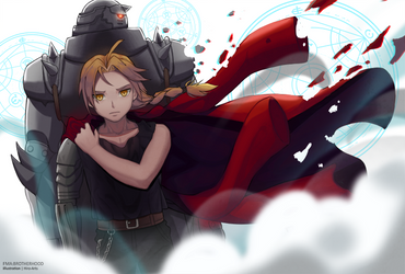 Elric Brothers by HiroSenpaiArt