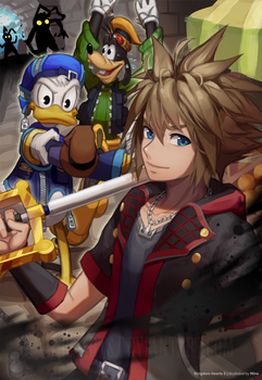 To the Kingdom of Hearts