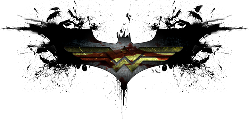Batman and Wonder Woman by KellCandido