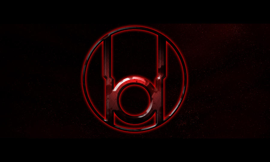Red lantern corps symbol wallpaper - photo#14