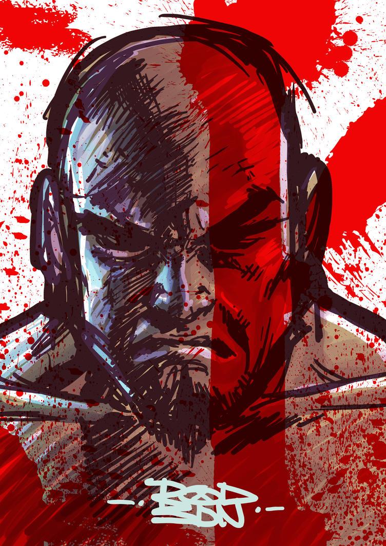 Kratos by KellCandido