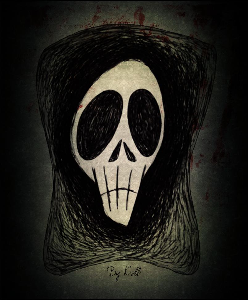 Skull by KellCandido
