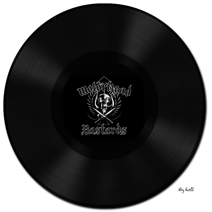 Vinyl Disc ... Motorhead by KellCandido