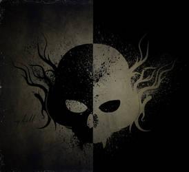 Blood Skull by KellCandido