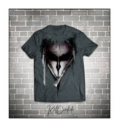 T-Shirt MockUp Front alien by Kell by KellCandido