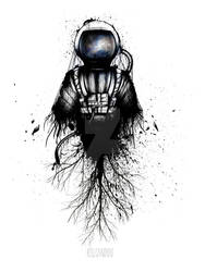 Astronaut For URban Arts by KellCandido