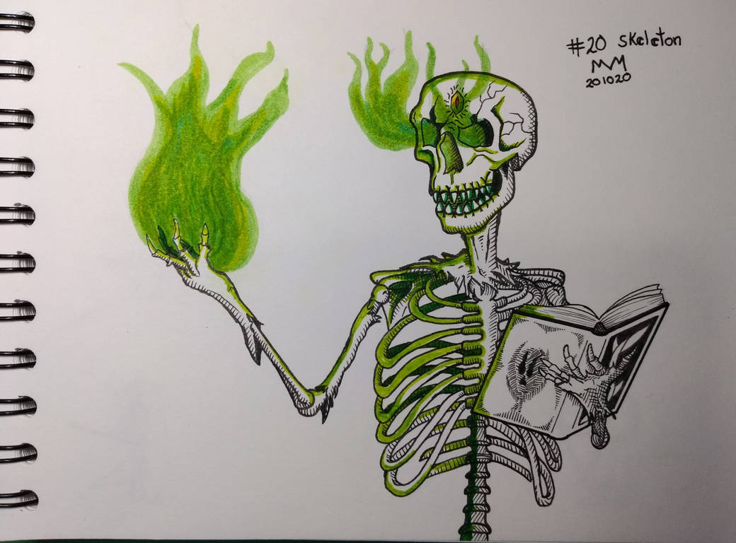Day 20: skeleton