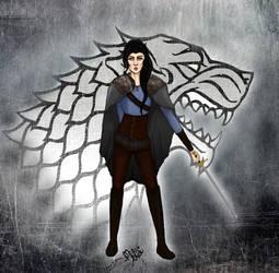 Arya Stark (Adult version)_ The North Remembers by VenomLeStrange
