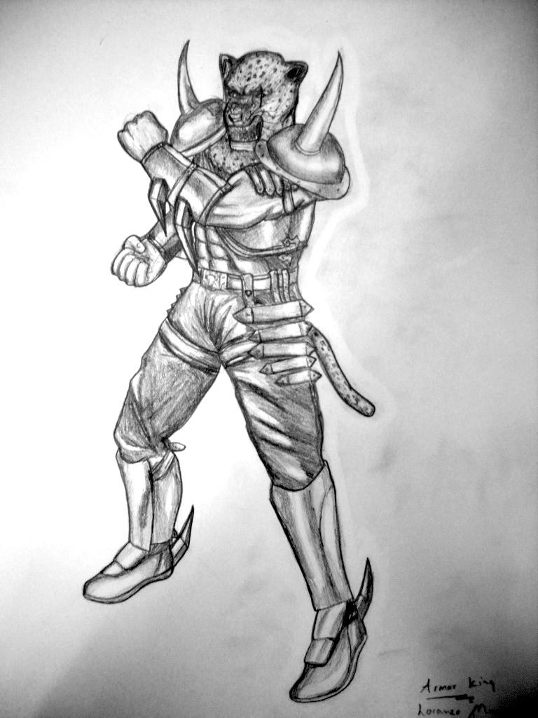 Armor King Tekken 6 By Sorasharingan On Deviantart