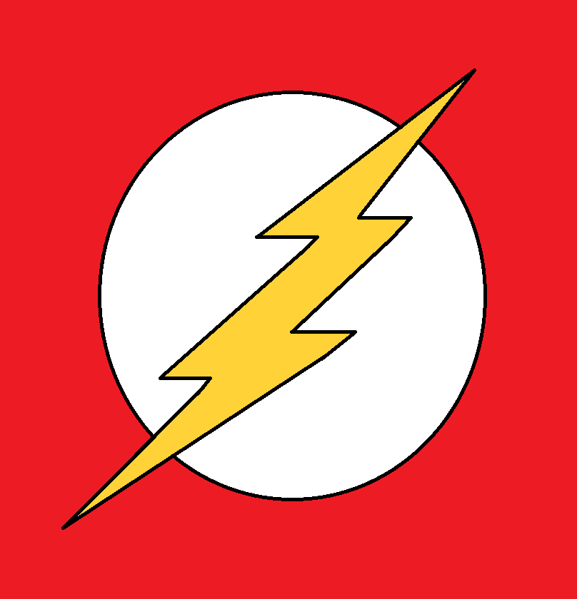 Flash Logo Simple Drawning By Elmsi On Deviantart