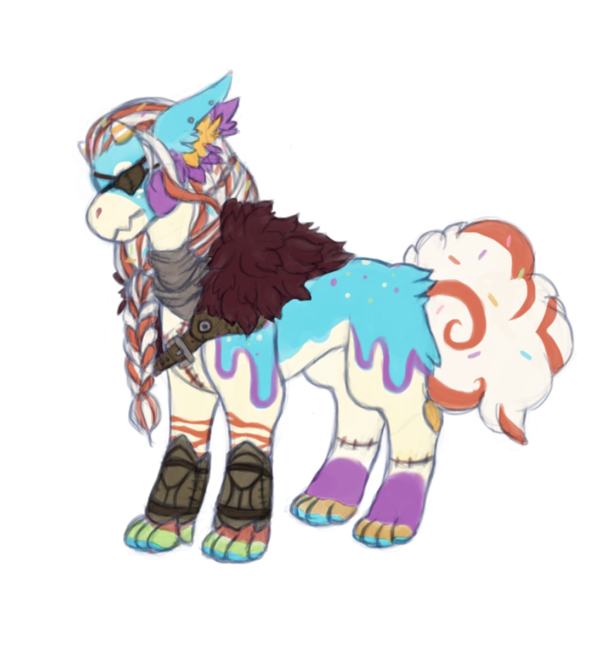 WIP Sketch/Color Bab by MadamexHatter