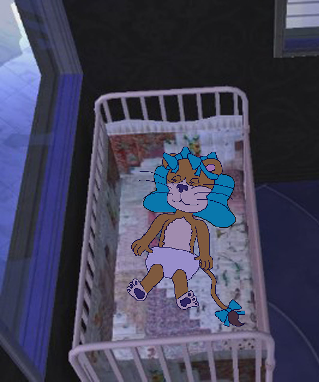 Baby Frida Sleeping by KBAFourthtime