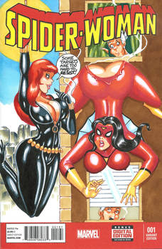 Spider-Woman 1 Sketch Cover Commission