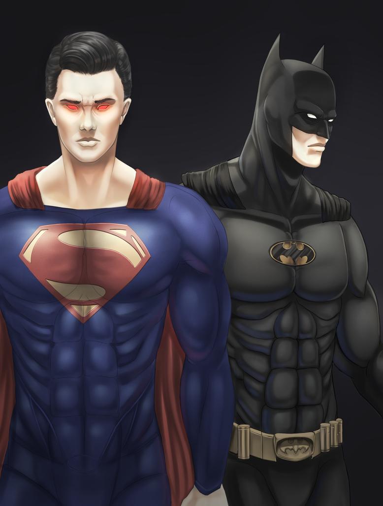 Superman/Batman by ragecndy