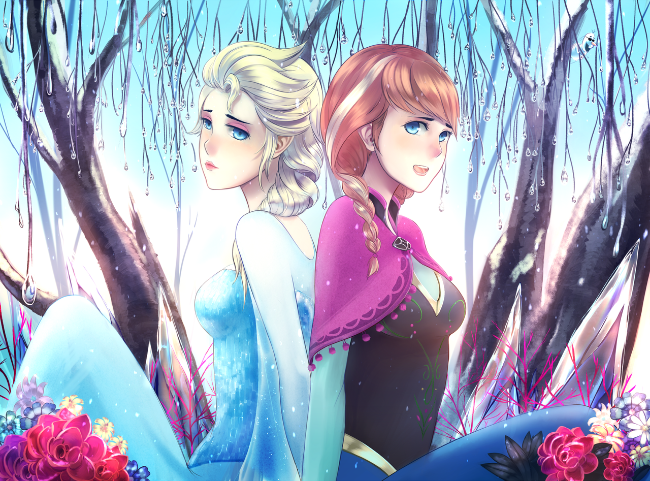 Frozen by ragecndy