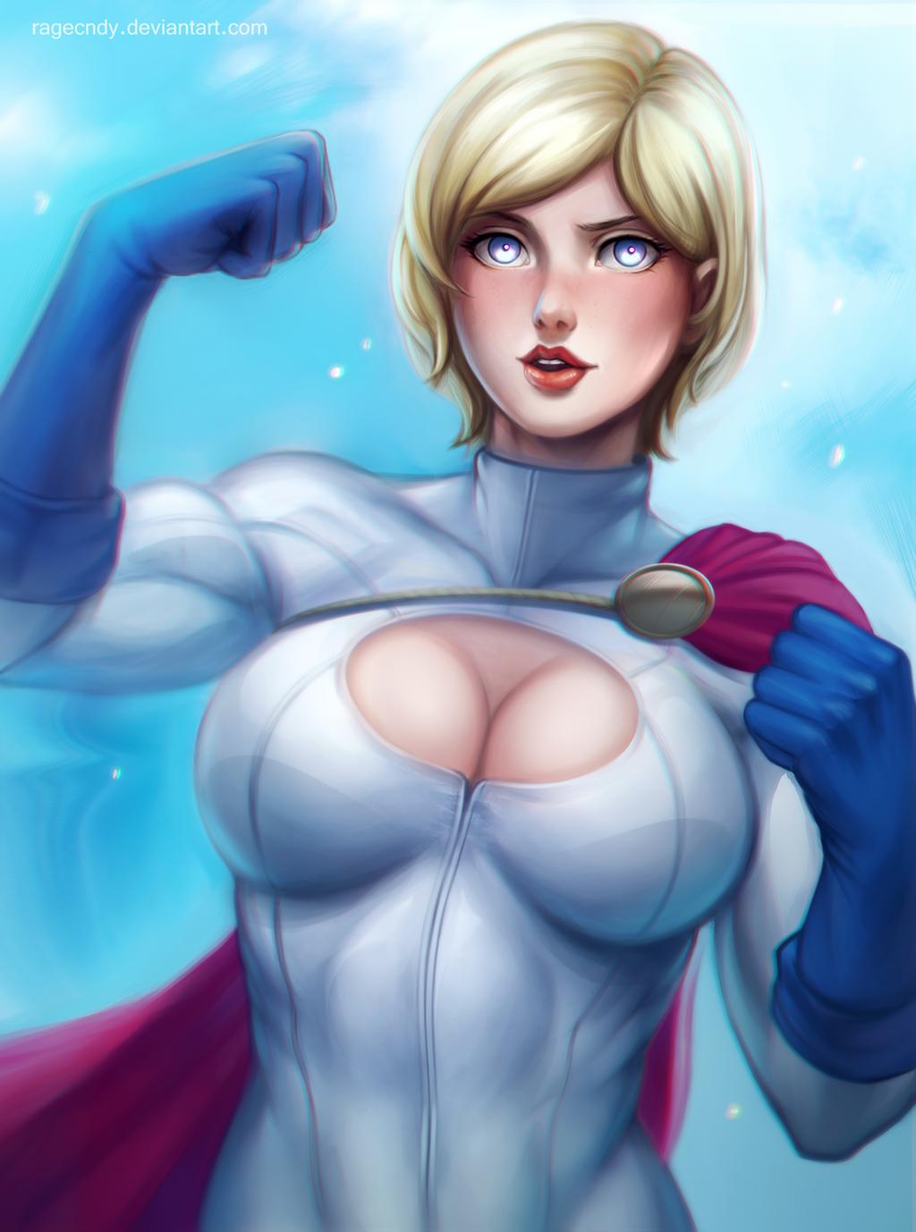 Power girl by ragecndy