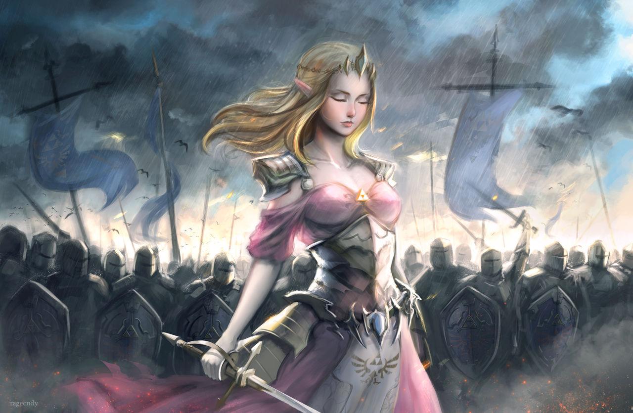 Queen Zelda by ragecndy