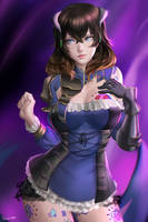 Bloodstained Miriam Commission by ragecndy