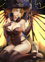 Mercy witch by ragecndy