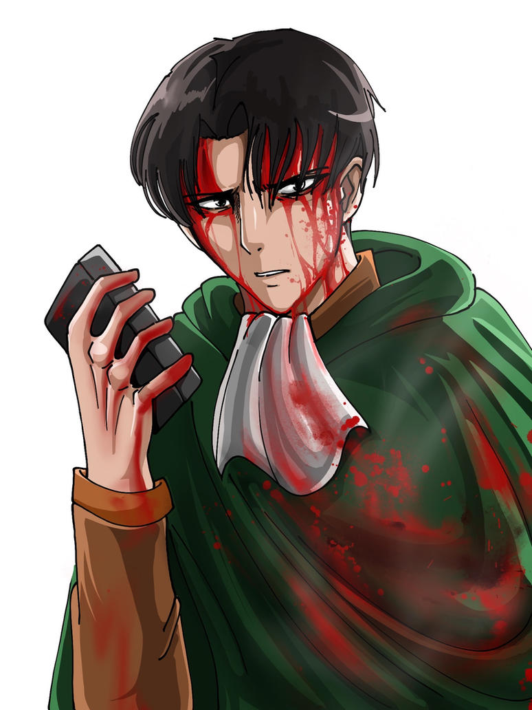Levi and the Serum (without Bg light) by JackLincoln