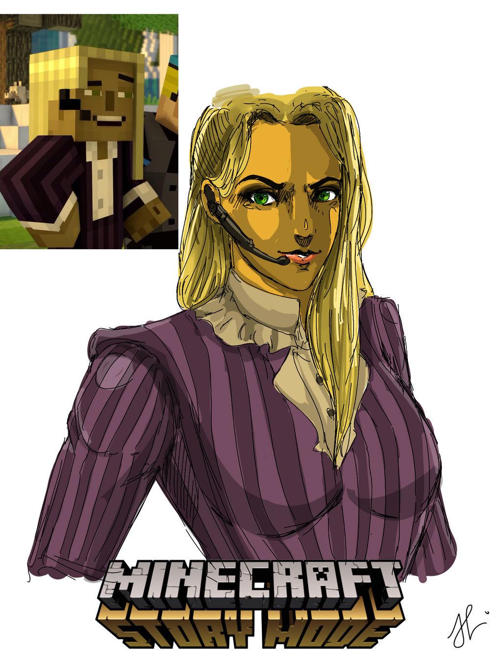 minecraft story mode fanart