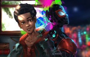 Miles Morales by Norvadier