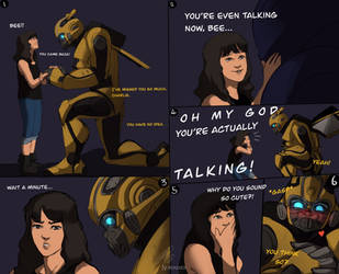 Bumblebee Talks! by Norvadier