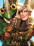 Ruffnut and Barf (Httyd Contest)