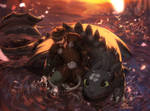 Forever (Httyd Contest Entry 2) by Norvadier