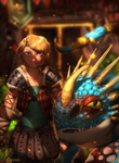 Get Ready! Astrid and Stormfly