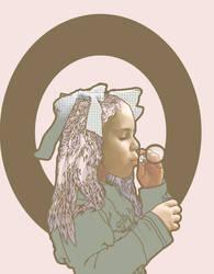 Bubble-Head Charm by mediodia