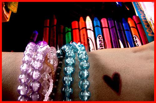 Crayons. by mediodia