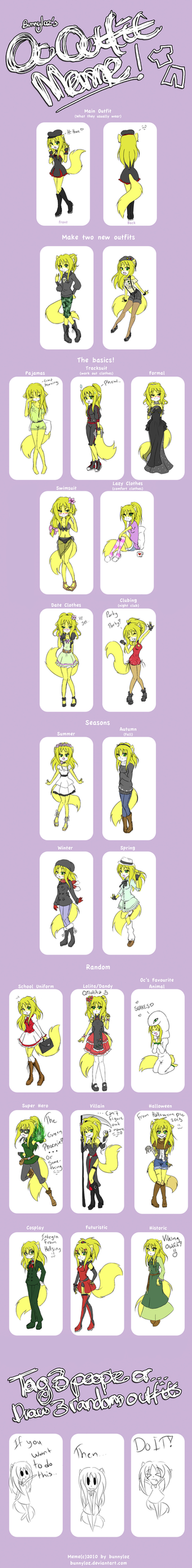 OC outfit Meme With Tei by Bjorkan