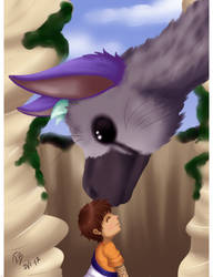 + Trico and kid + by Bjorkan