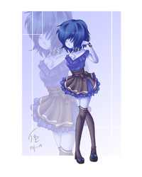 +A Pretty Blue Pearl + by Bjorkan
