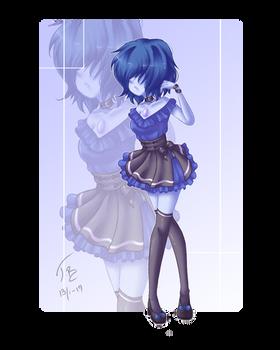 +A Pretty Blue Pearl +