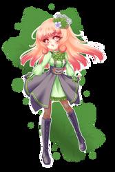 + Cute cloudberry girl +
