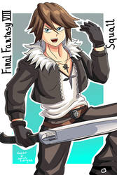 Squall-Final Fantasy VIII by RodriguesD-Marcelo