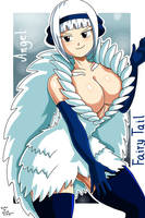 Angel-Fairy Tail by RodriguesD-Marcelo