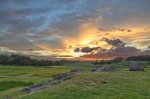 Bradgate Park Sunset 2. by F-art-Photography
